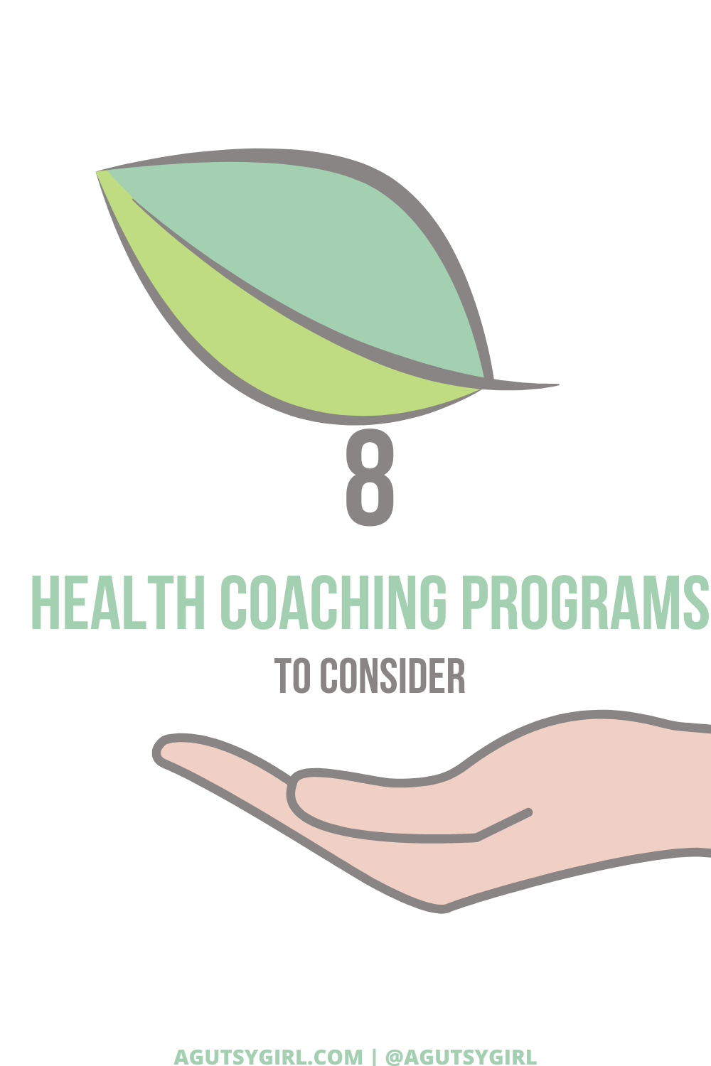 Health Coaching Programs to Consider agutsygirl.com #healthcoach #healthcoaching #IIN