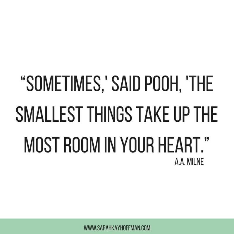 Smallest Things www.sarahkayhoffman.com