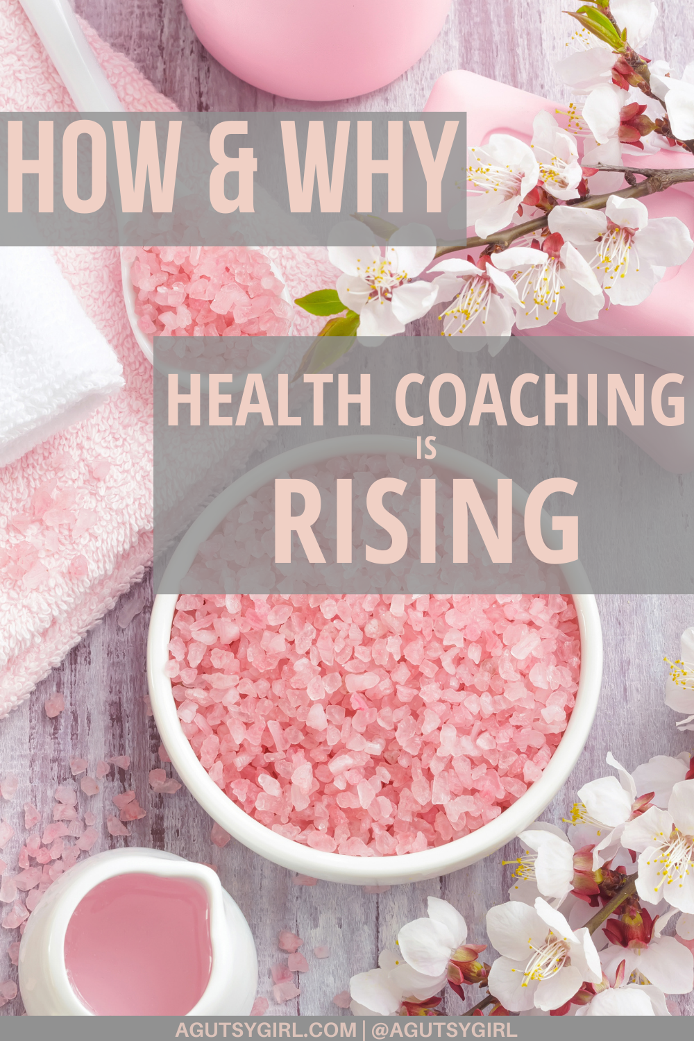 Why is health coaching rising? agutsygirl.com #healthcoach #healthcoaching #IIN