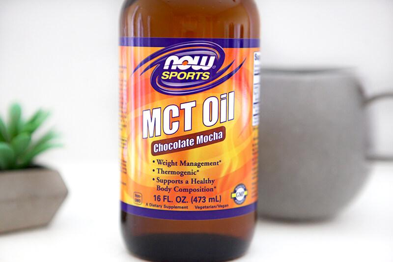 NOW Foods www.sarahkayhoffman.com MCT Oil Mocha