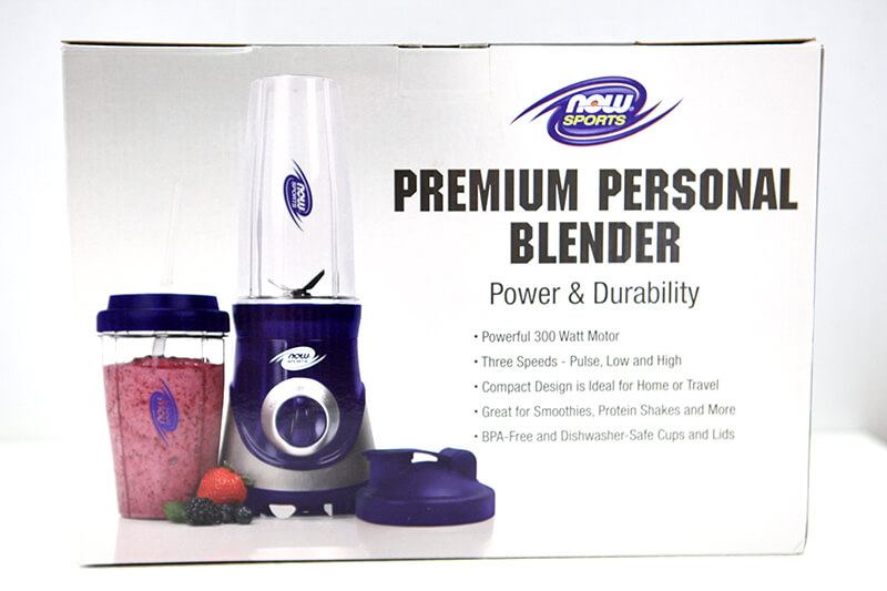 NOW Foods www.sarahkayhoffman.com Premium Personal Blender