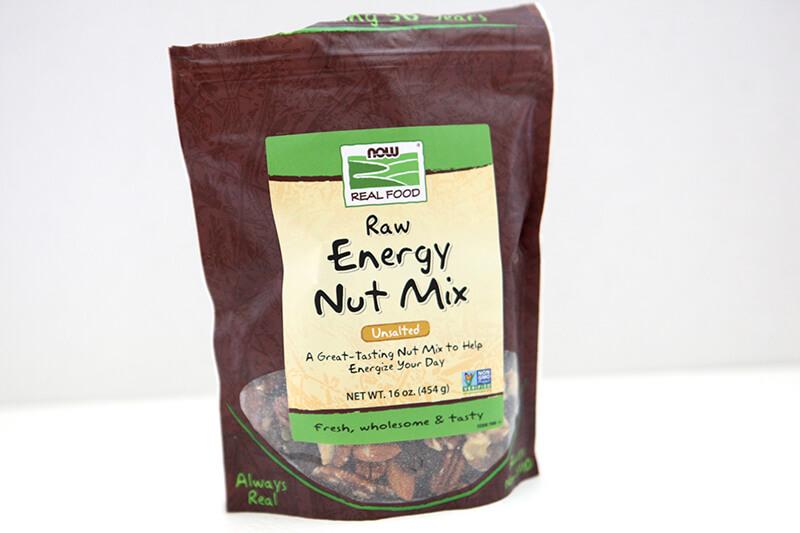 NOW Foods www.sarahkayhoffman.com Raw Energy Nut Mix