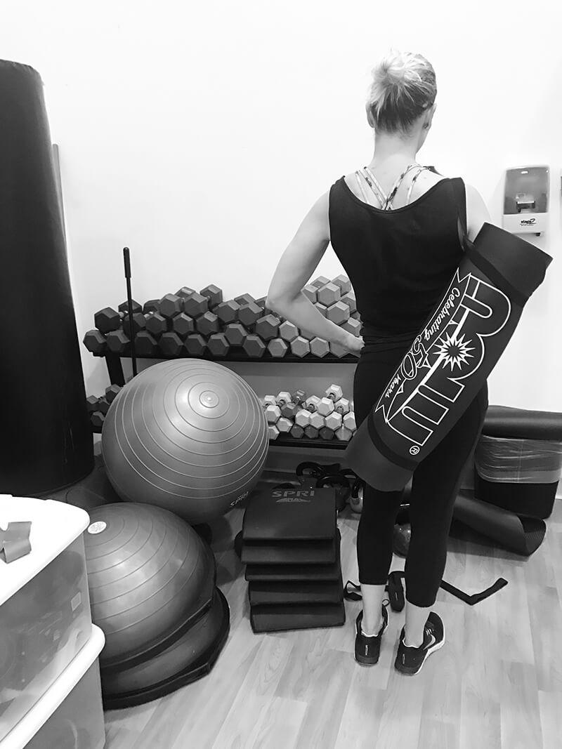 NOW Foods www.sarahkayhoffman.com workout yoga mat