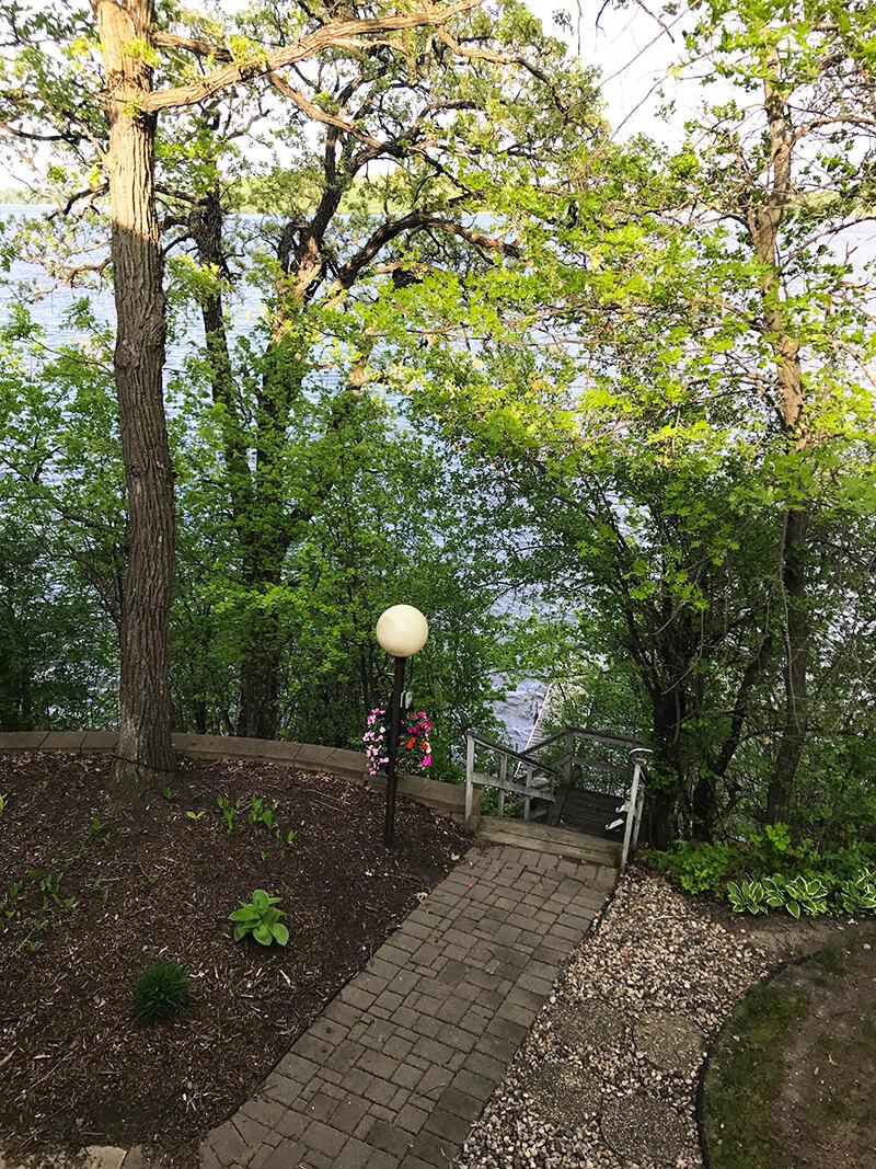 Slow Down www.sarahkayhoffman.com lake dock trees