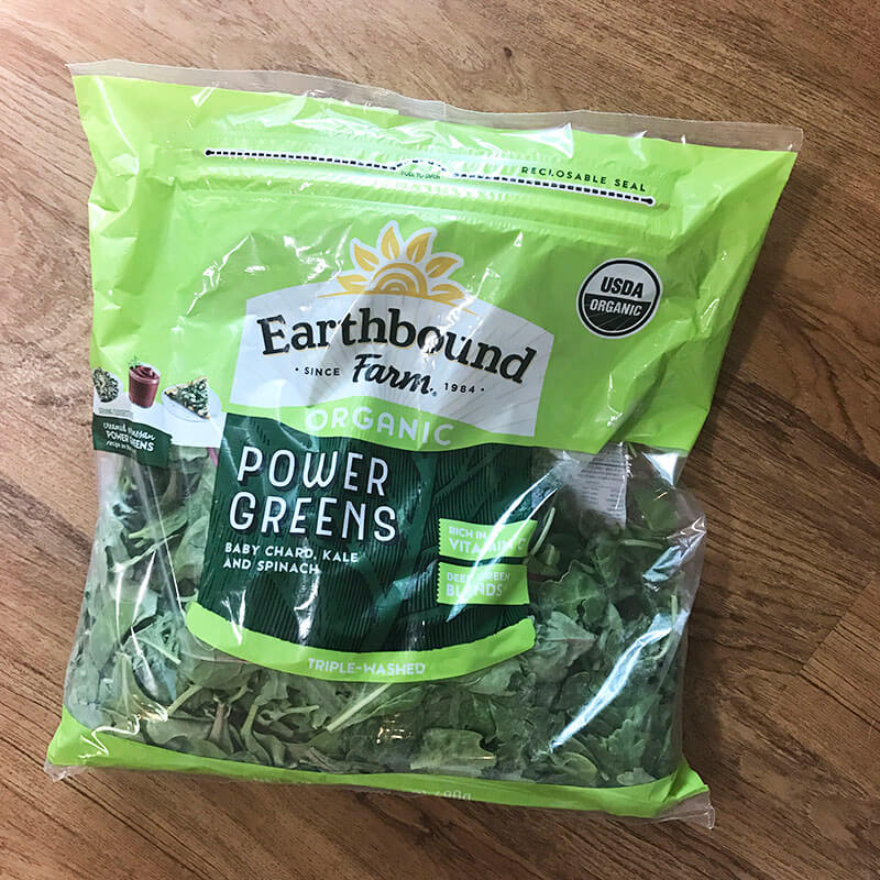 My Costco Grocery Cart www.sarahkayhoffman.com #groceryshopping #healthyliving #costco Earthbound Farms Organic Power Greens