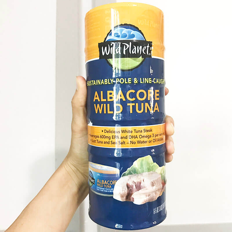 My Costco Grocery Cart www.sarahkayhoffman.com #groceryshopping #healthyliving #costco Wild Planet Albacore Tuna