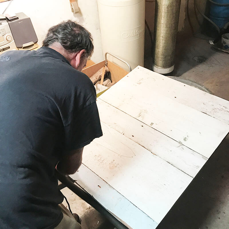 Strong www.sarahkayhoffman.com dad making photography boards