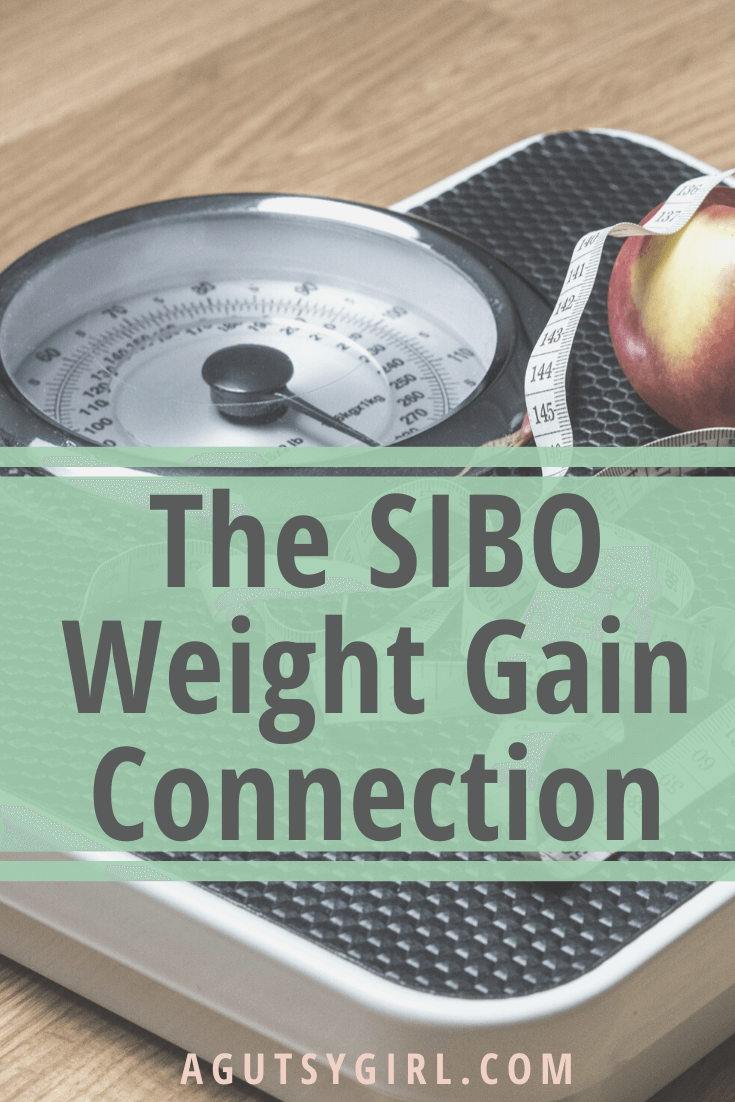 The SIBO Weight Gain Connection agutsygirl.com #sibo #weightgain #guthealth #ibs