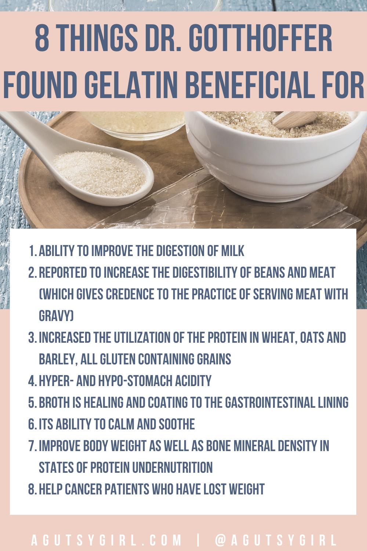 Why I Believe in Gelatin for Gut Healing gut agutsygirl.com #gelatin #guthealth #collagen #supplements