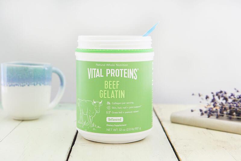 Why I Believe in Gelatin for Gut Healing www.sarahkayhoffman.com Vital Proteins Beef Gelatin information #GutHealth #VitalProteins #Gelatin #Paleo