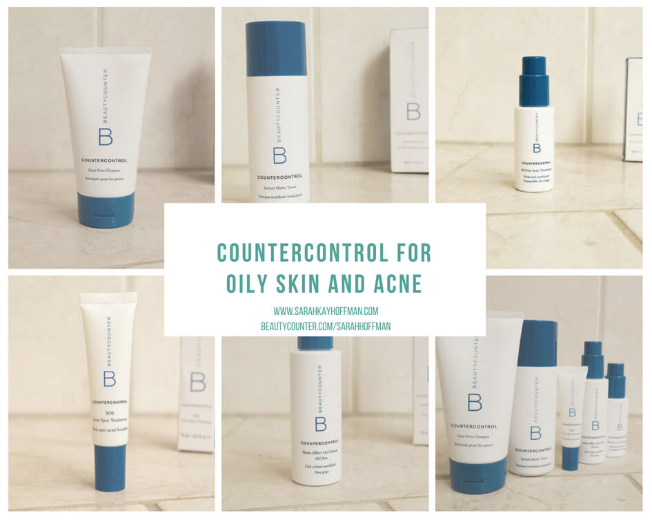 Countercontrol for Oily Skin and Acne Line www.sarahkayhoffman.com beautycounter.com:sarahhoffman #acne #healthyliving #beautycounter #skincare
