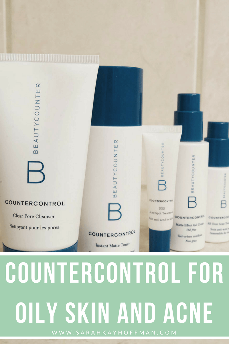 Countercontrol for Oily Skin and Acne www.sarahkayhoffman.com beautycounter.com:sarahhoffman #acne #healthyliving #beautycounter #skincare