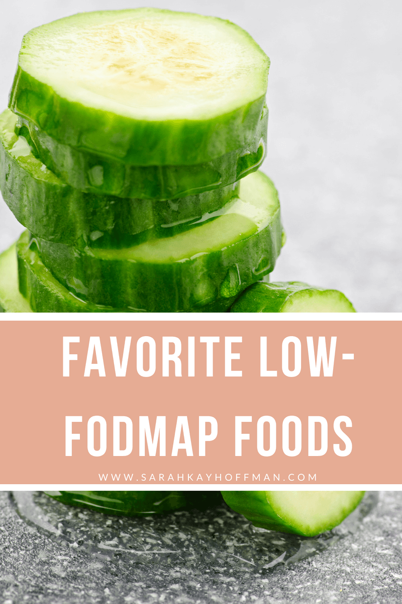 Favorite Low FODMAP Foods www.sarahkayhoffman.com #sibo #lowfodmap #guthealth #healthyliving #fodmap #ibs
