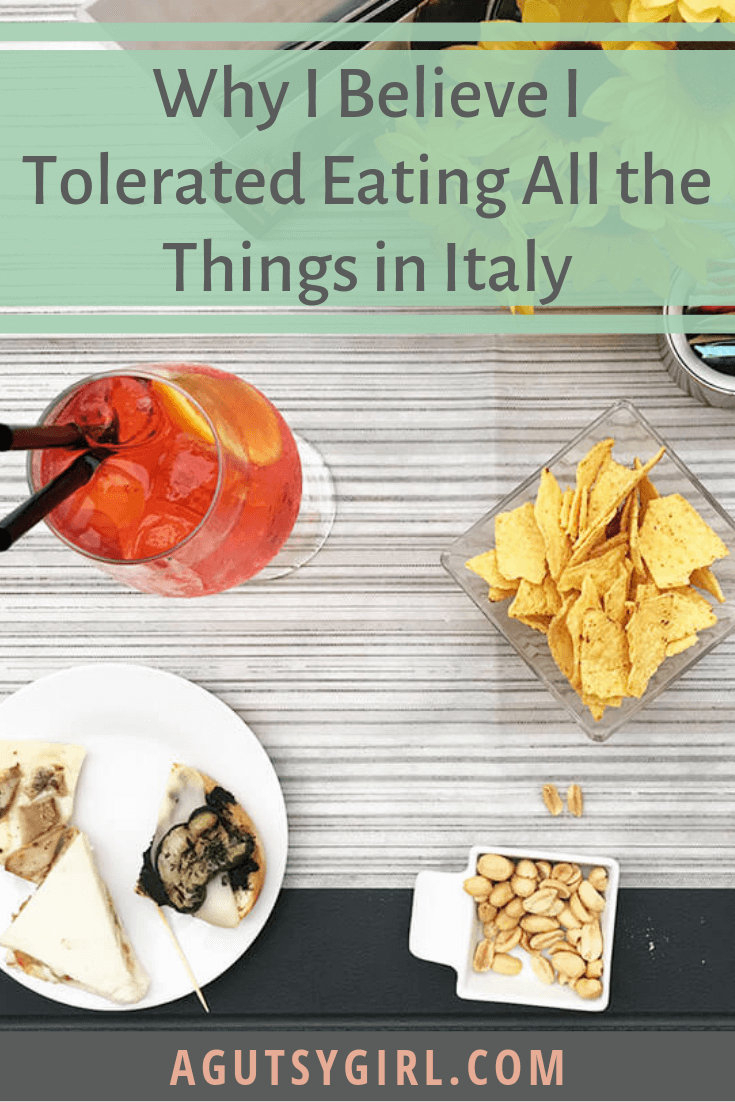 Kilometer Zero Why I Believe I Tolerated Eating all the things in Italy agutsygirl.com #italy #travel #traveling #foodintolerance #guthealth