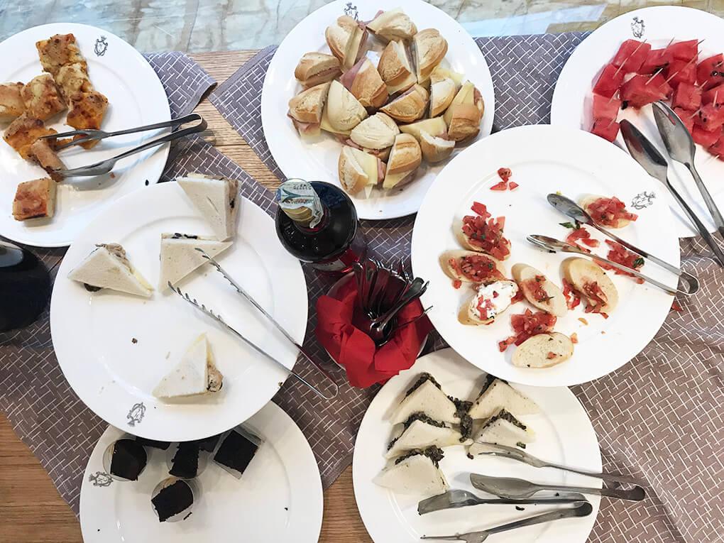 Kilometer Zero www.sarahkayhoffman.com Aperitivo #aperitivo #travel #italy #glutenfree
