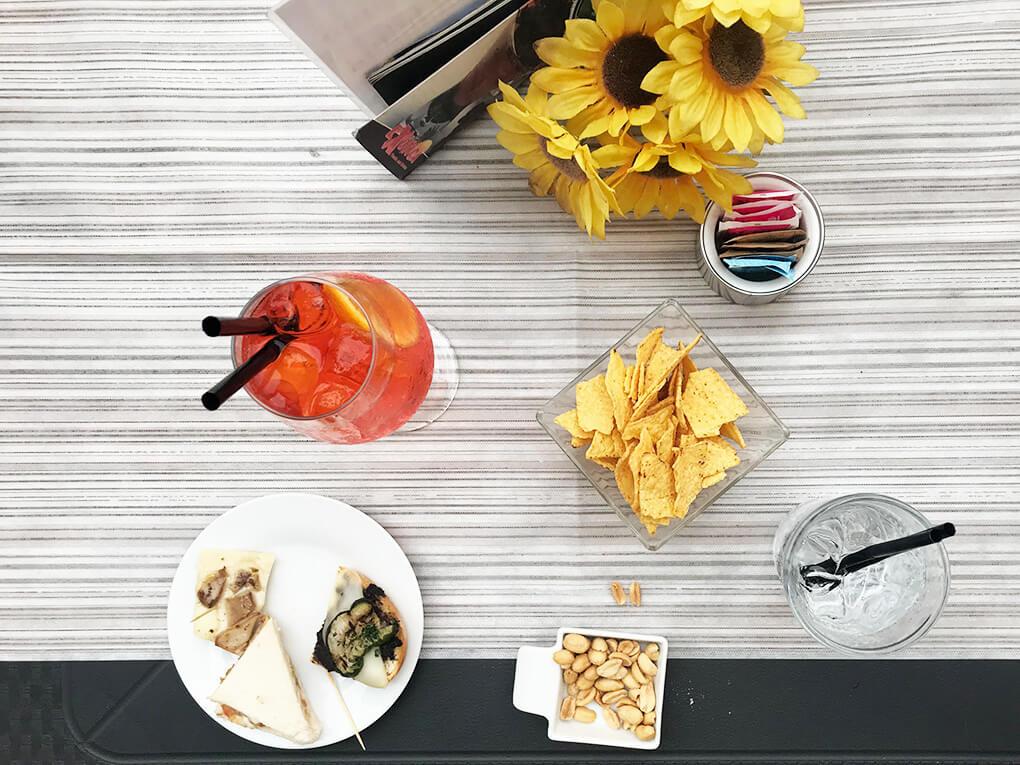 Kilometer Zero www.sarahkayhoffman.com Italy table Aperitivo #travel #italy #glutenfree