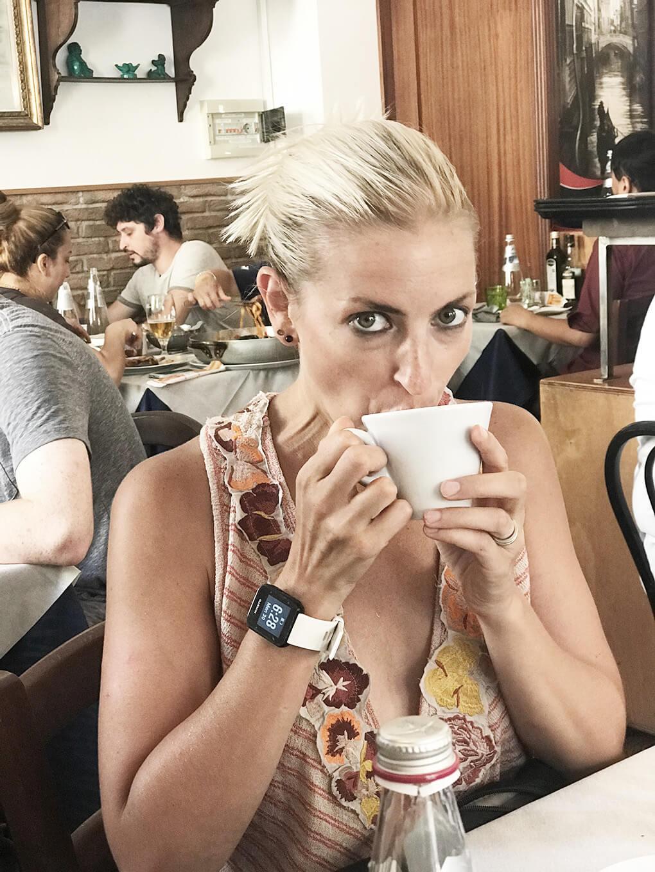 Kilometer Zero www.sarahkayhoffman.com SKH coffee #coffee #travel #italy #glutenfree