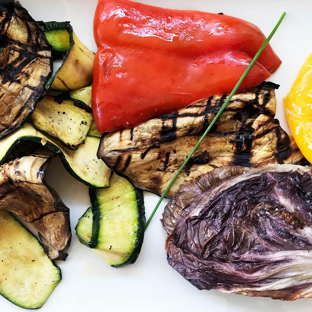 Kilometer Zero www.sarahkayhoffman.com roasted veggies #travel #italy #glutenfree