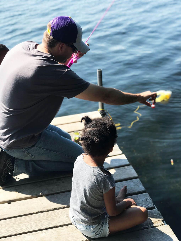 August 2018 Catch Up Over Bone Broth www.sarahkayhoffman.com JJ Samarah fishing Minnesota #fishing #healthyliving #lifestyleblogger