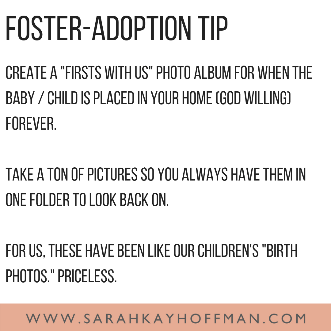 Firsts with Us www.sarahkayhoffman.com Foster Adoption tip #gotchaday #fosteradoption #adoption #fostercare