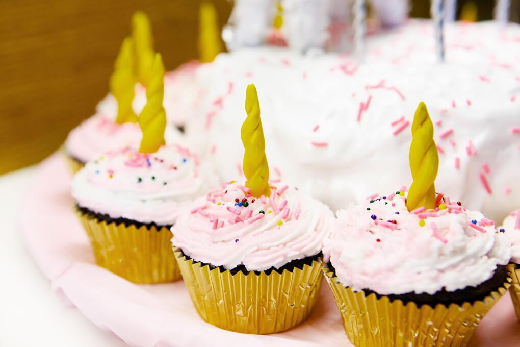 Happy Birthday, Samarah {This is Five} www.sarahkayhoffman.com Unicorn Cupcakes #lifestyleblogger #cupcakes #unicorncupcakes #birthday