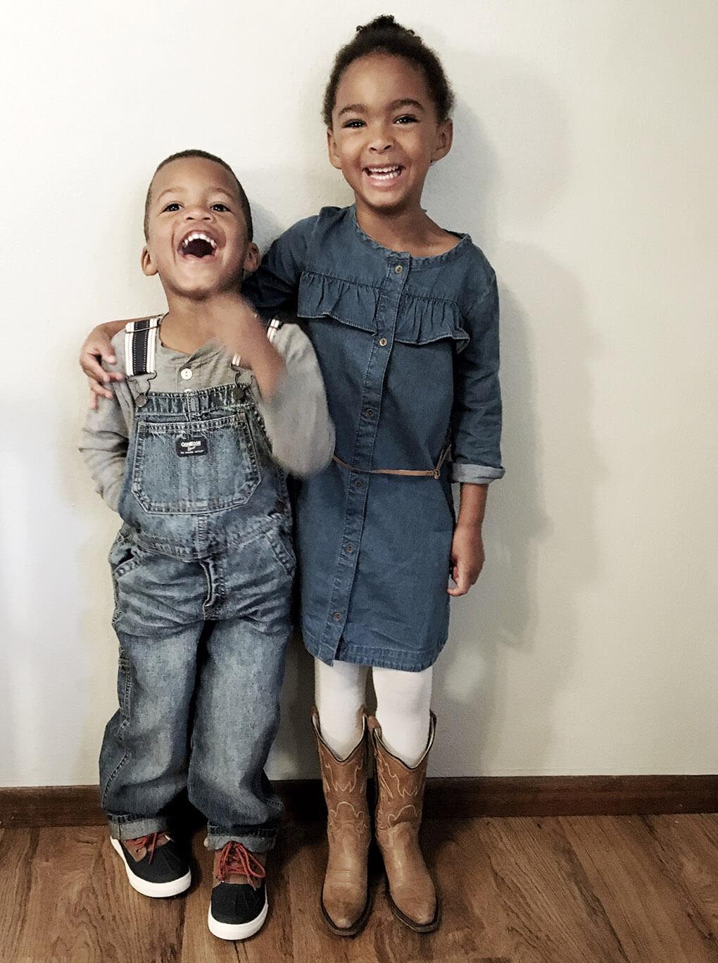 Our NICU Babies www.sarahkayhoffman.com National NICU Awareness Month Samarah and Isaiah school picture day #NICU #preemie #lifestyleblogger