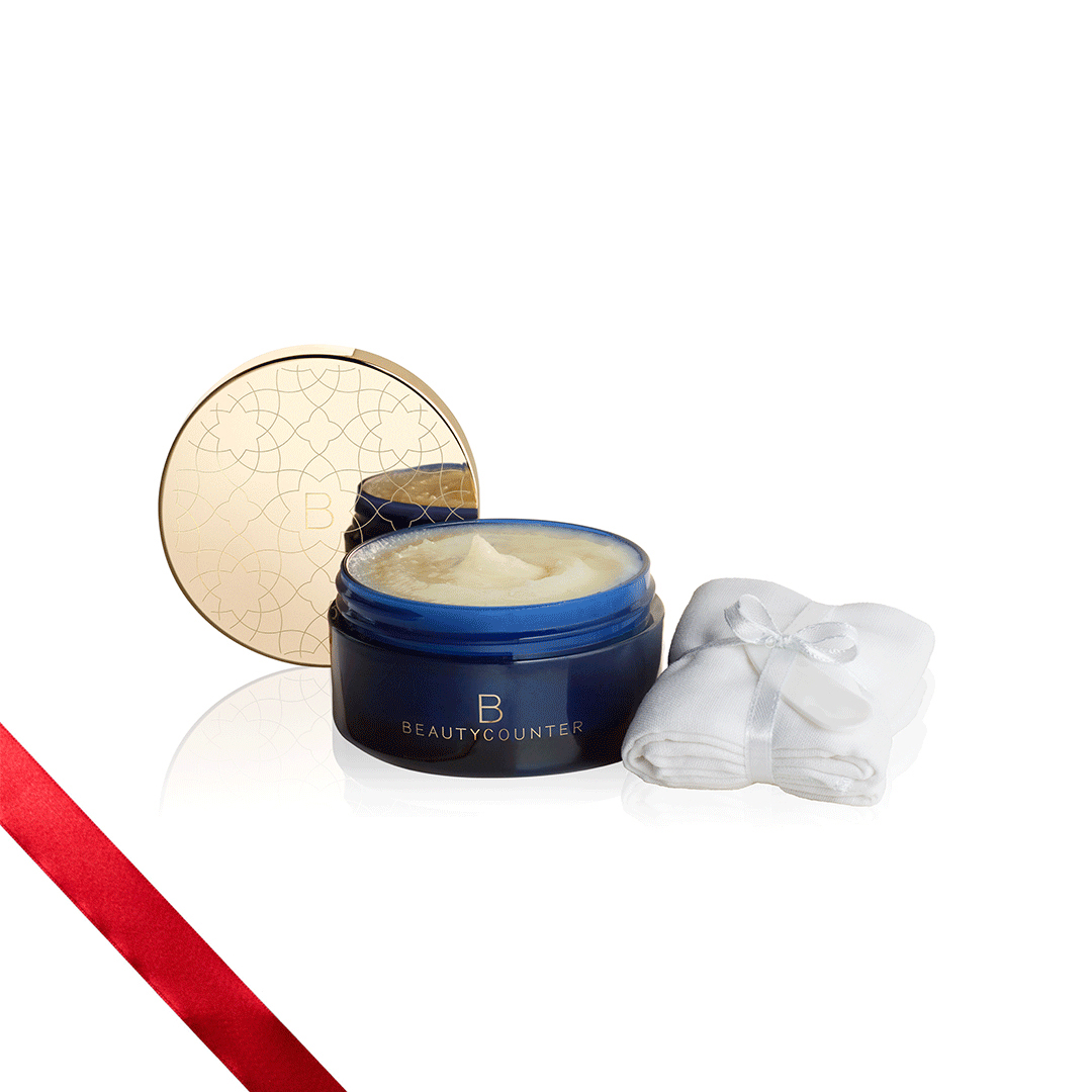 Holiday Makeup 2018 Beautycounter Skincare www.sarahkayhoffman.com #makeup #beautycounter #betterbeauty #facecleanser #moisturizer #holidaygifts Special Edition Cleansing Balm