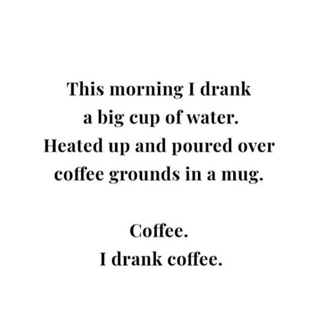 September 2018 Catch Up Over Bone Broth www.sarahkayhoffman.com Coffee quote #coffee #nationalcoffeeday #lifestyleblogger #healthylifestyle