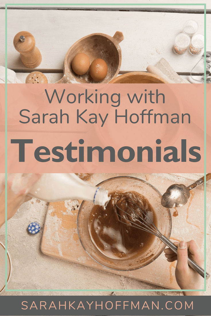 Testimonials Working with Sarah Kay Hoffman gut health www.sarahkayhoffman.com #ibs #ibd #healthcoach #IIN #healthyliving #healthylifestyle