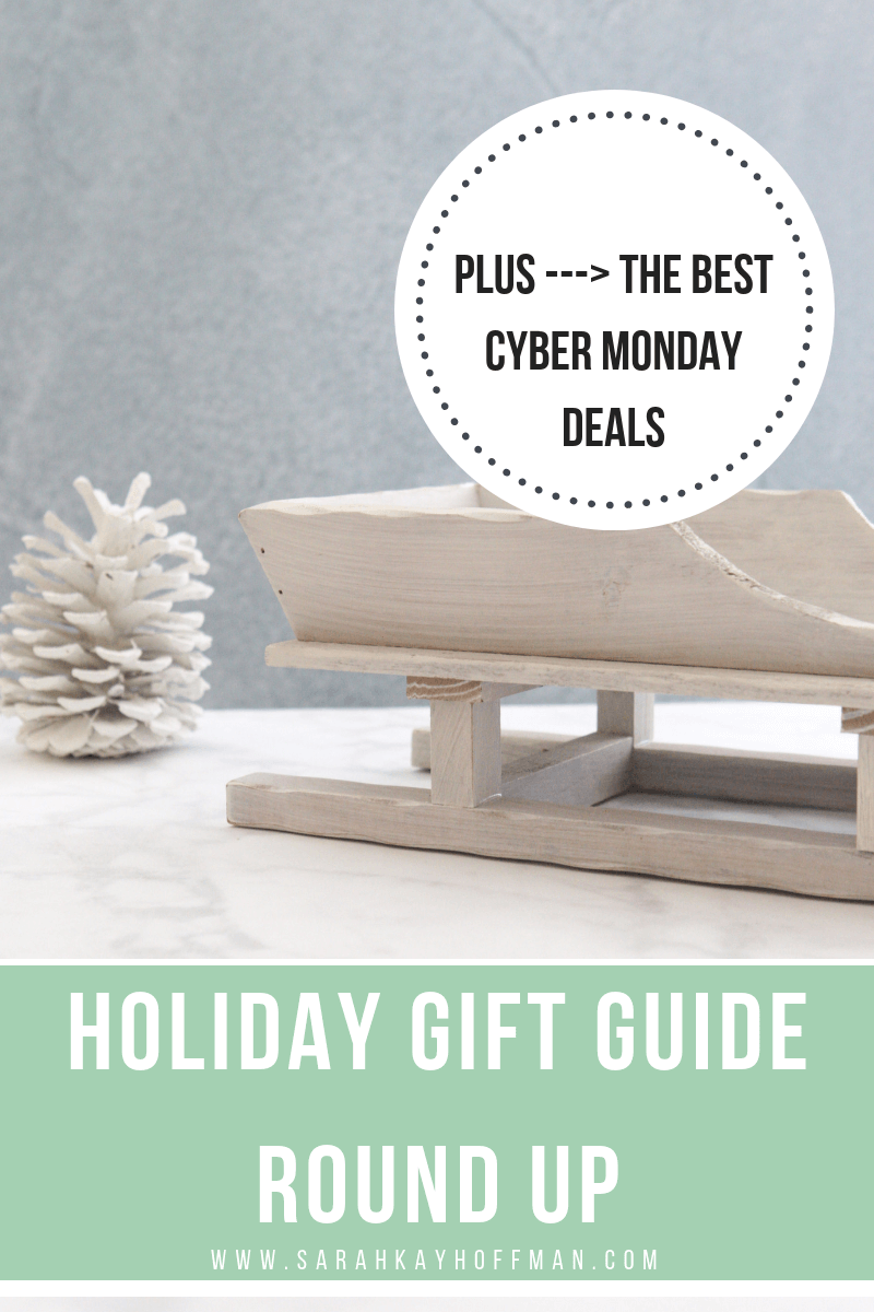 2018 Holiday Gift Guide Round Up www.sarahkayhoffman.com #healthyliving #cybermonday #gifts #holiday Cyber Monday