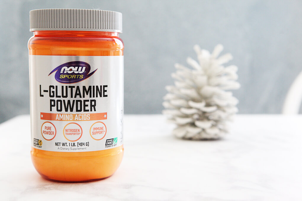 A Gutsy Girl Holiday 2018 Gut Health Wish List www.sarahkayhoffman.com L Glutamine powder NOW Foods #holiday #guthealth #guthealing #holidaygifts #supplements