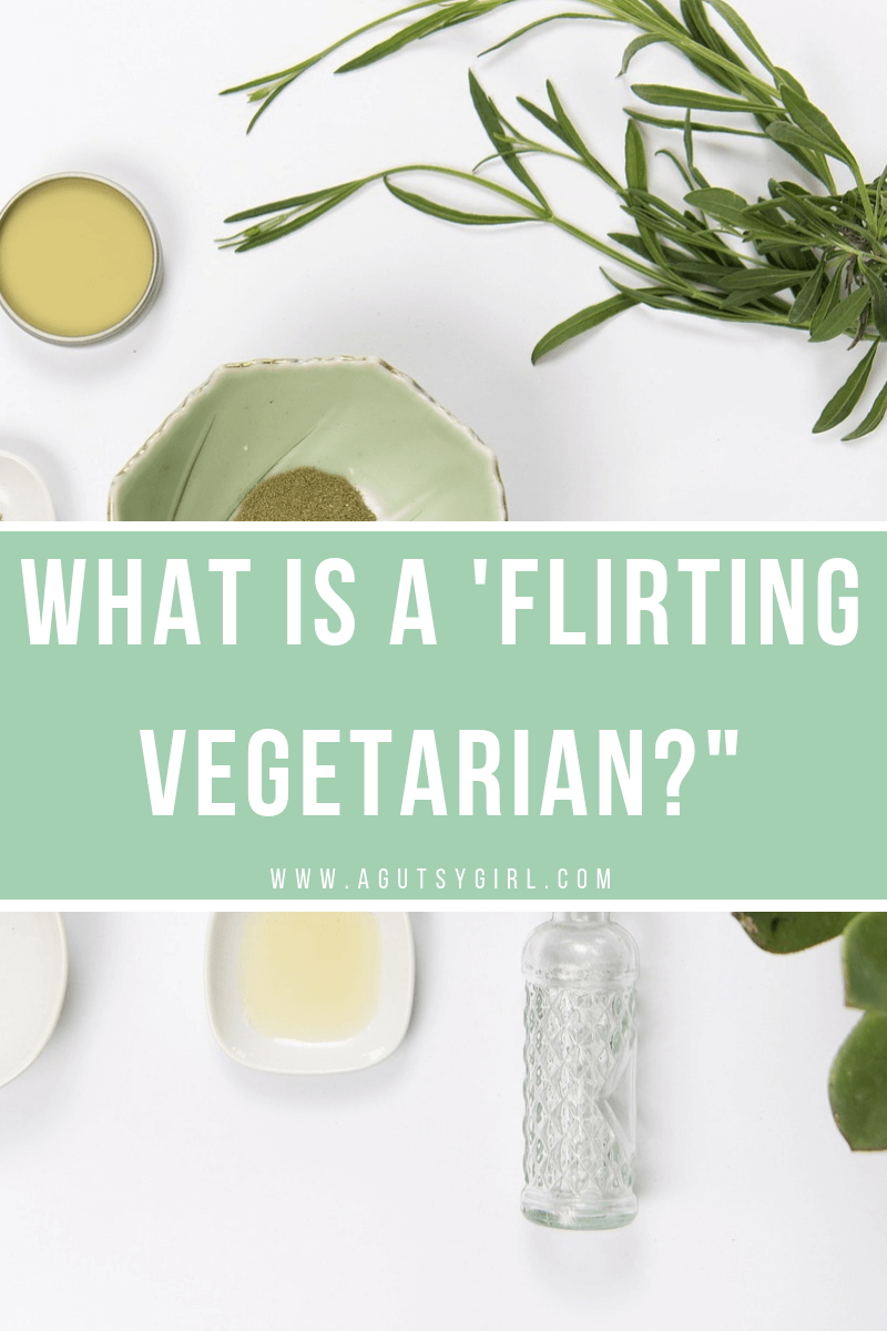 Flirting Vegetarian www.sarahkayhoffman.com #vegetarian #guthealth #healthyliving #thekinddiet