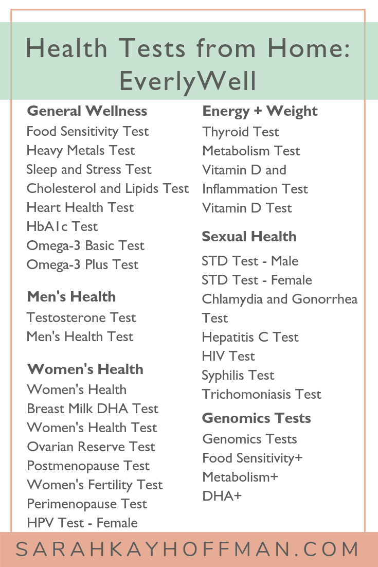 Health Tests from Home EverlyWell food intolerance www.sarahkayhoffman.com #foodintolerance #healthyliving #wellnesstips #ibs