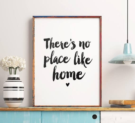 Home www.sarahkayhoffman.com Etsy There is No Place Like Home #home #etsy #lifestyleblogger #homedecor
