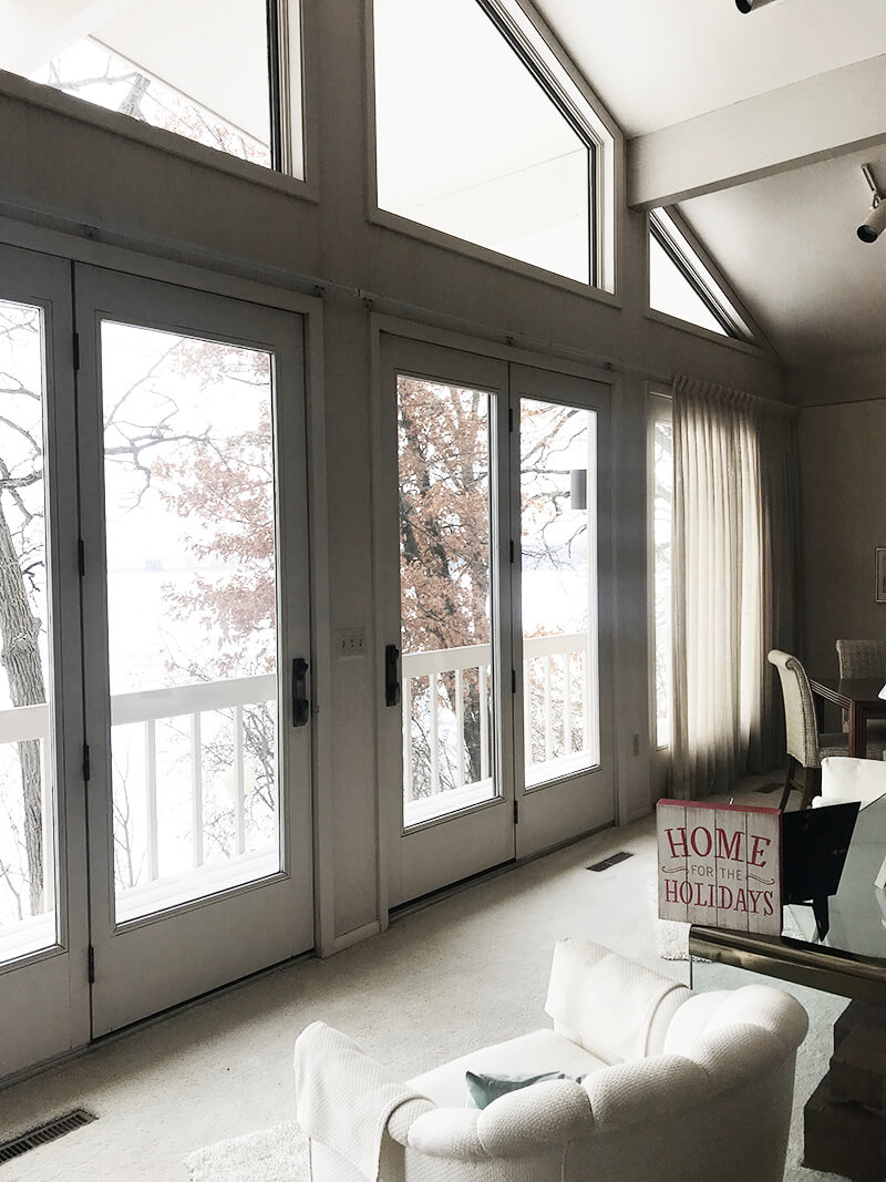 Home www.sarahkayhoffman.com home for the holidays farmhouse style new house #lifestyleblogger #homedecor