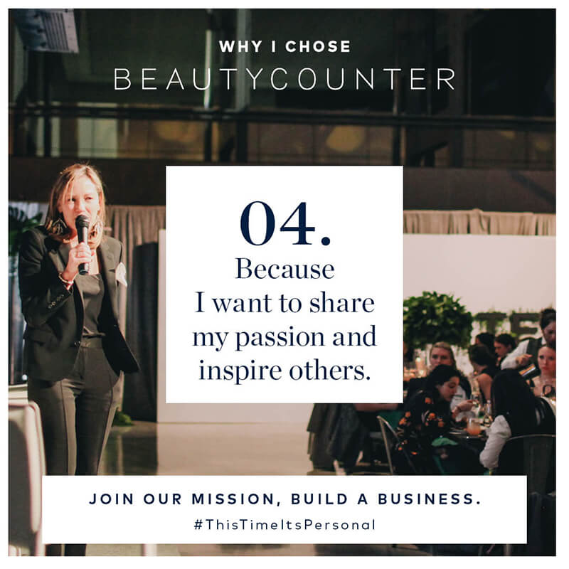Top 6 Reasons to Join A Gutsy Girl Beautycounter Team www.sarahkayhoffman.com #mompreneur #beautycounter #healthyliving passion business