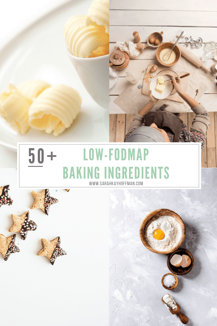 8 Low-FODMAP Christmas Cookies www.sarahkayhoffman.com #lowfodmap #glutenfree #cookies #healthyliving #guthealth 50+ Low-FODMAP Baking Ingredients