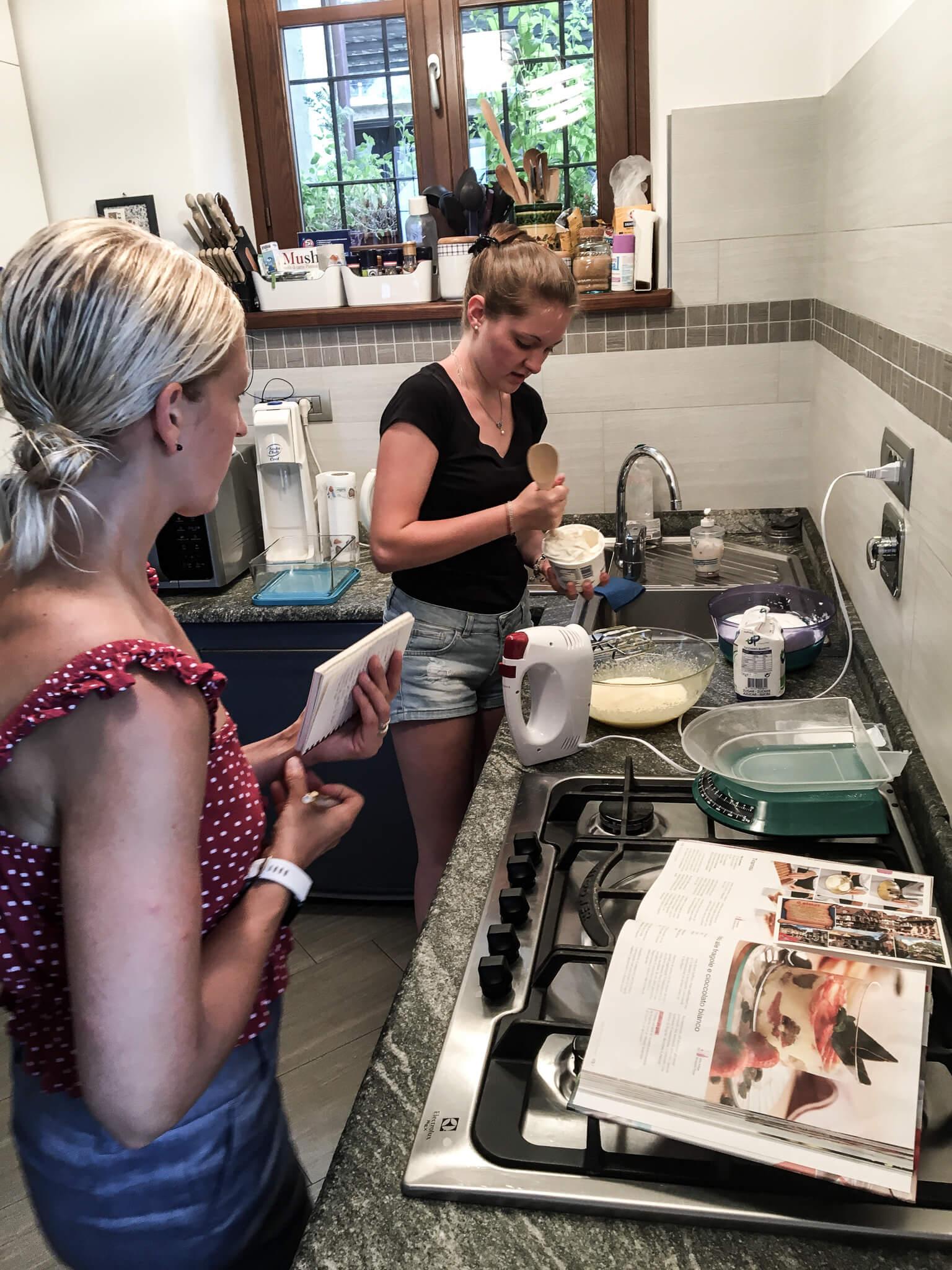 Tiramisu www.sarahkayhoffman.com #tiramisu #dessert #italy making with Ceci Italian kitchen