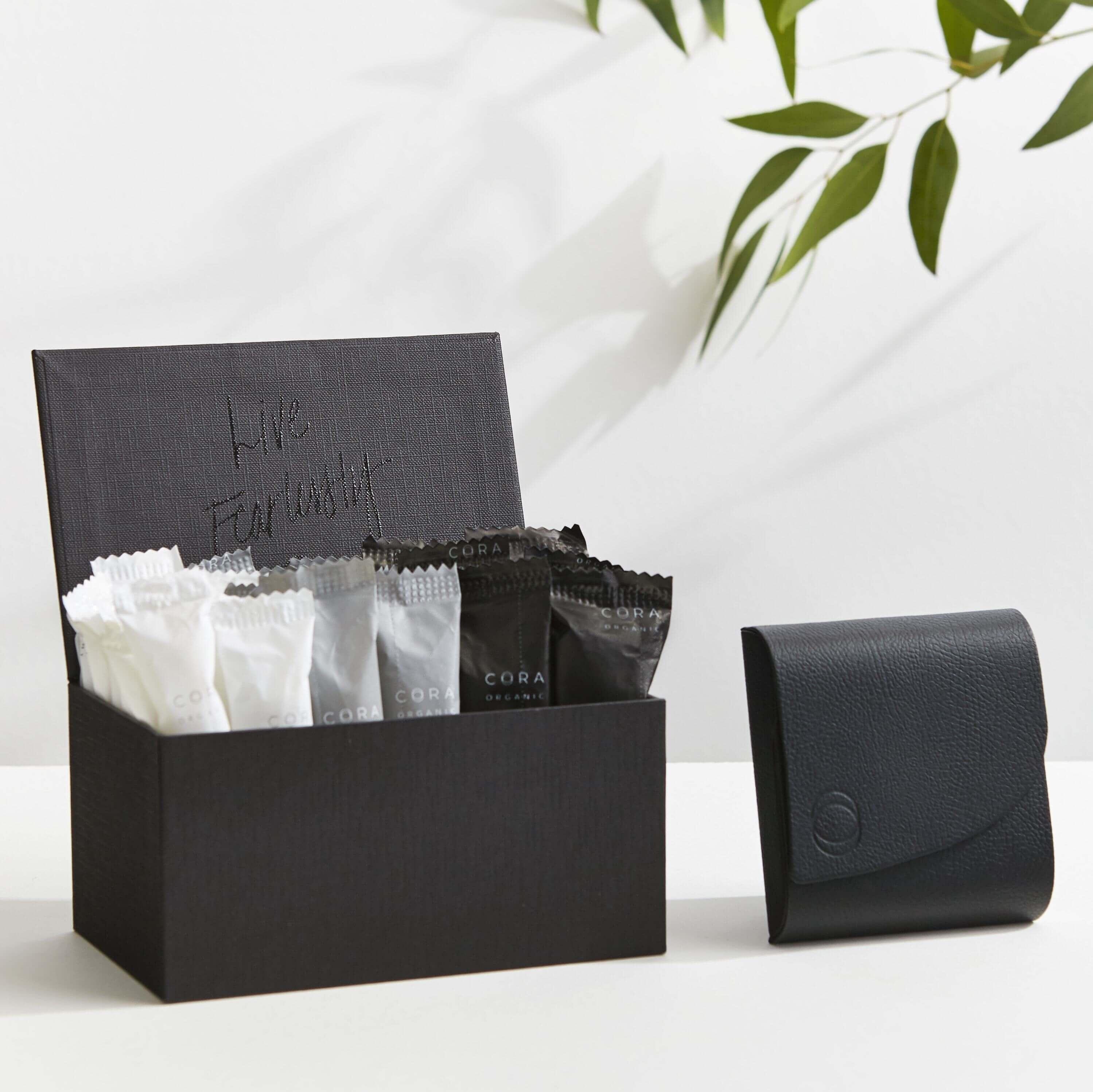 Top 4 Organic Tampons www.sarahkayhoffman.com #tampon #organic #healthyliving Cora tampons
