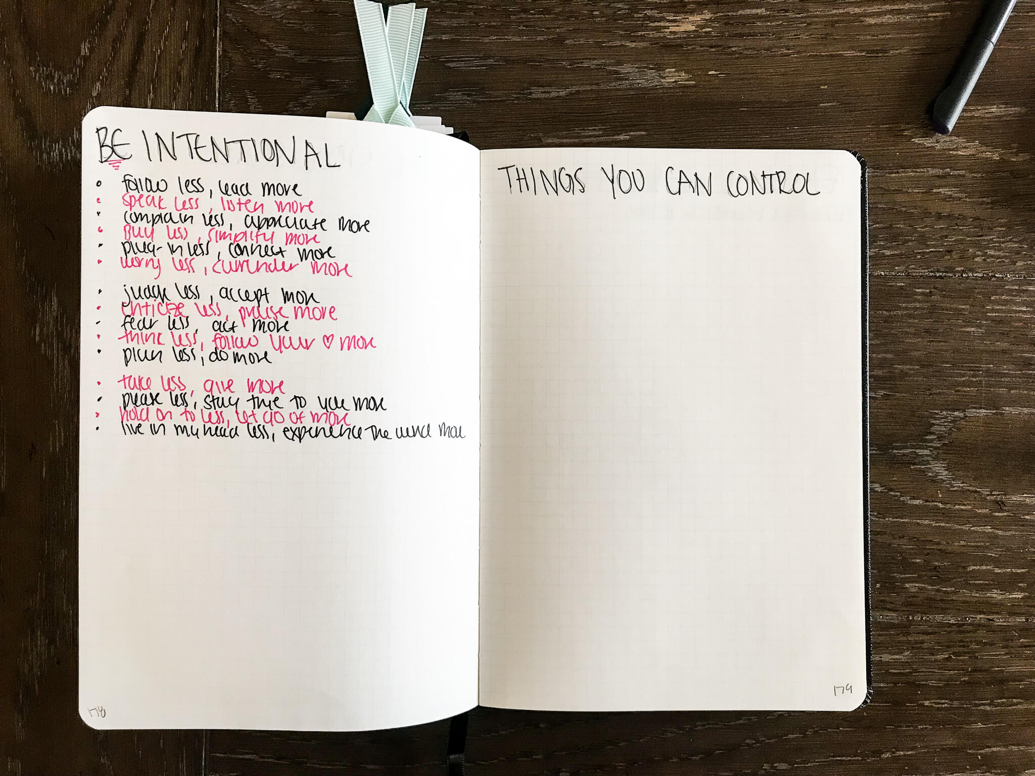 2019 Bullet Journal www.sarahkayhoffman.com #bulletjournal #bujo #healthyliving #mompreneur lists be intentional