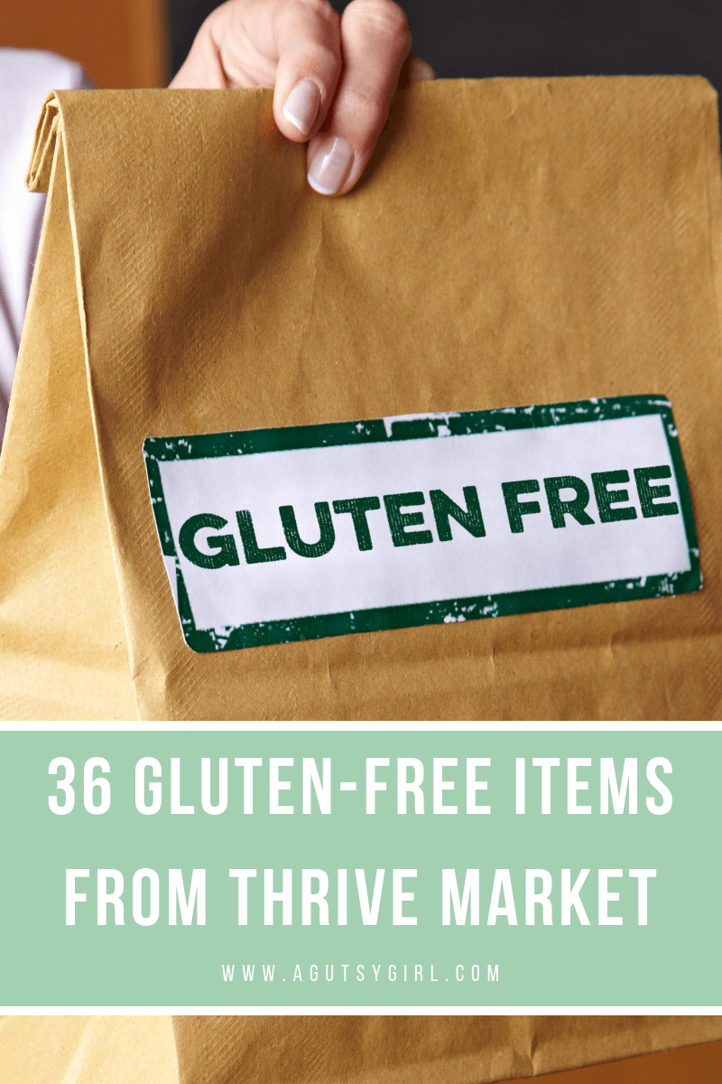 36 Gluten-Free Items from Thrive Market www.agutsygirl.com #thrivemarket #glutenfree #vegan #guthealth #healthyliving