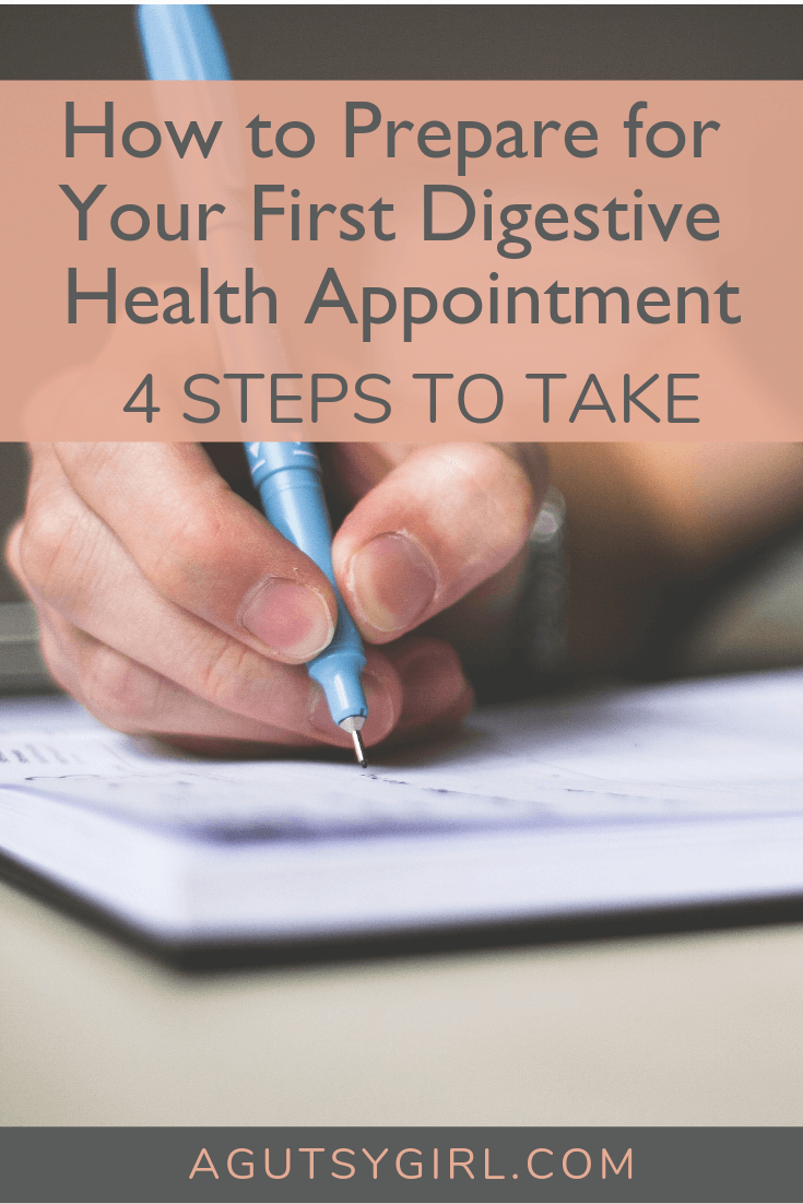 Beginner's Guide to Digestive Health Testing 4 steps to prepare for your appointment #guthealth #guthealing #gut #healthyliving www.agutsygirl.comq