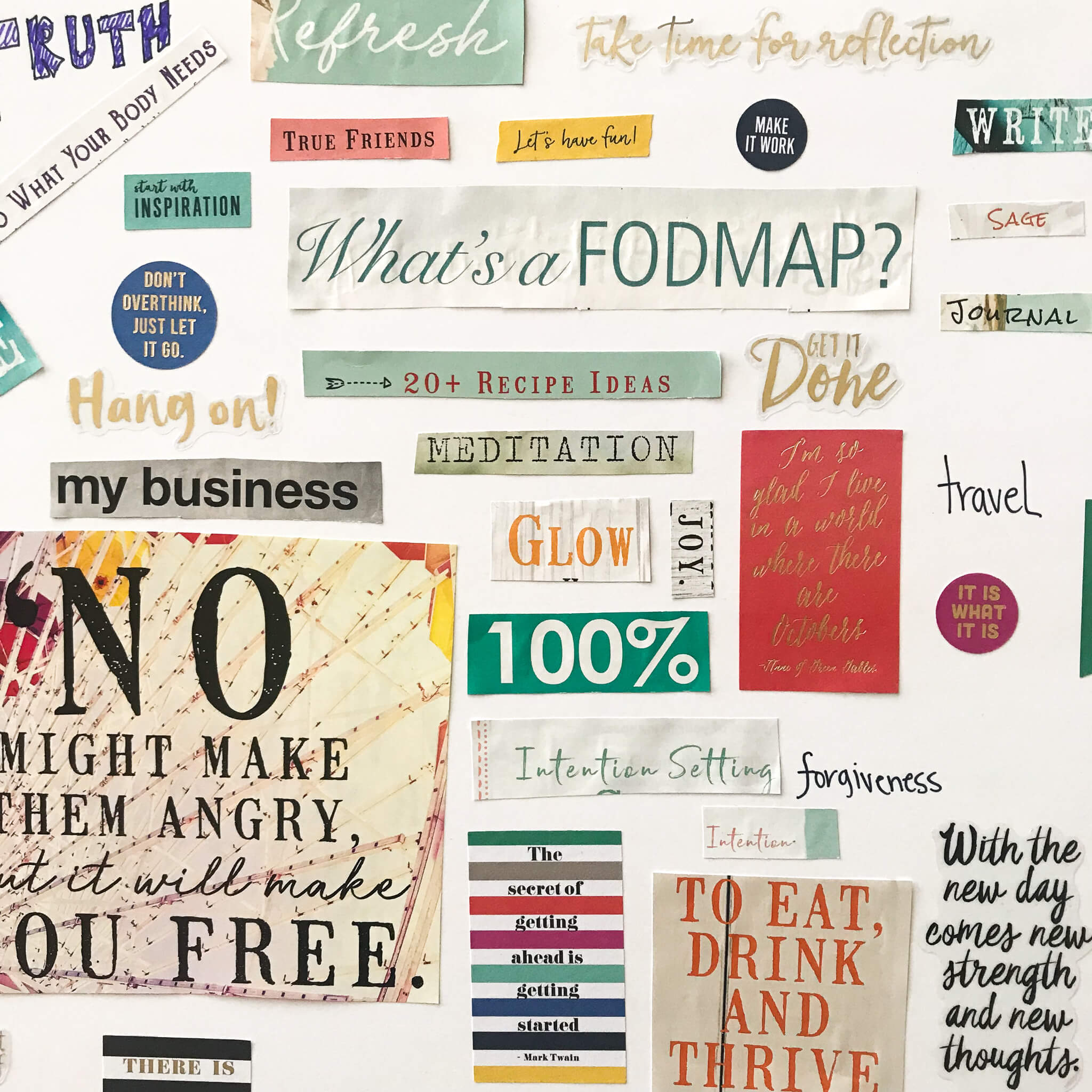 Living with Intention www.sarahkayhoffman.com #goals #mompreneur #intention #visionboard intentions