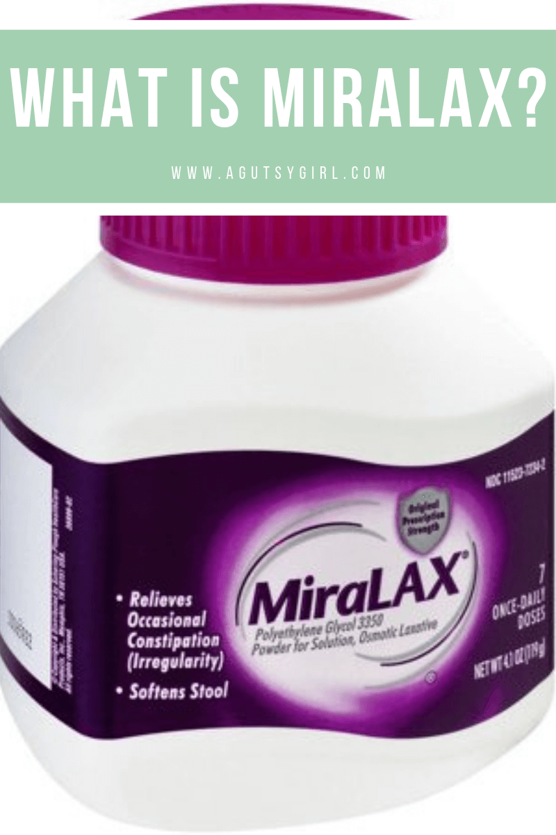 What is Miralax www.agutsygirl.com #miralax #constipation #IBS #guthealth