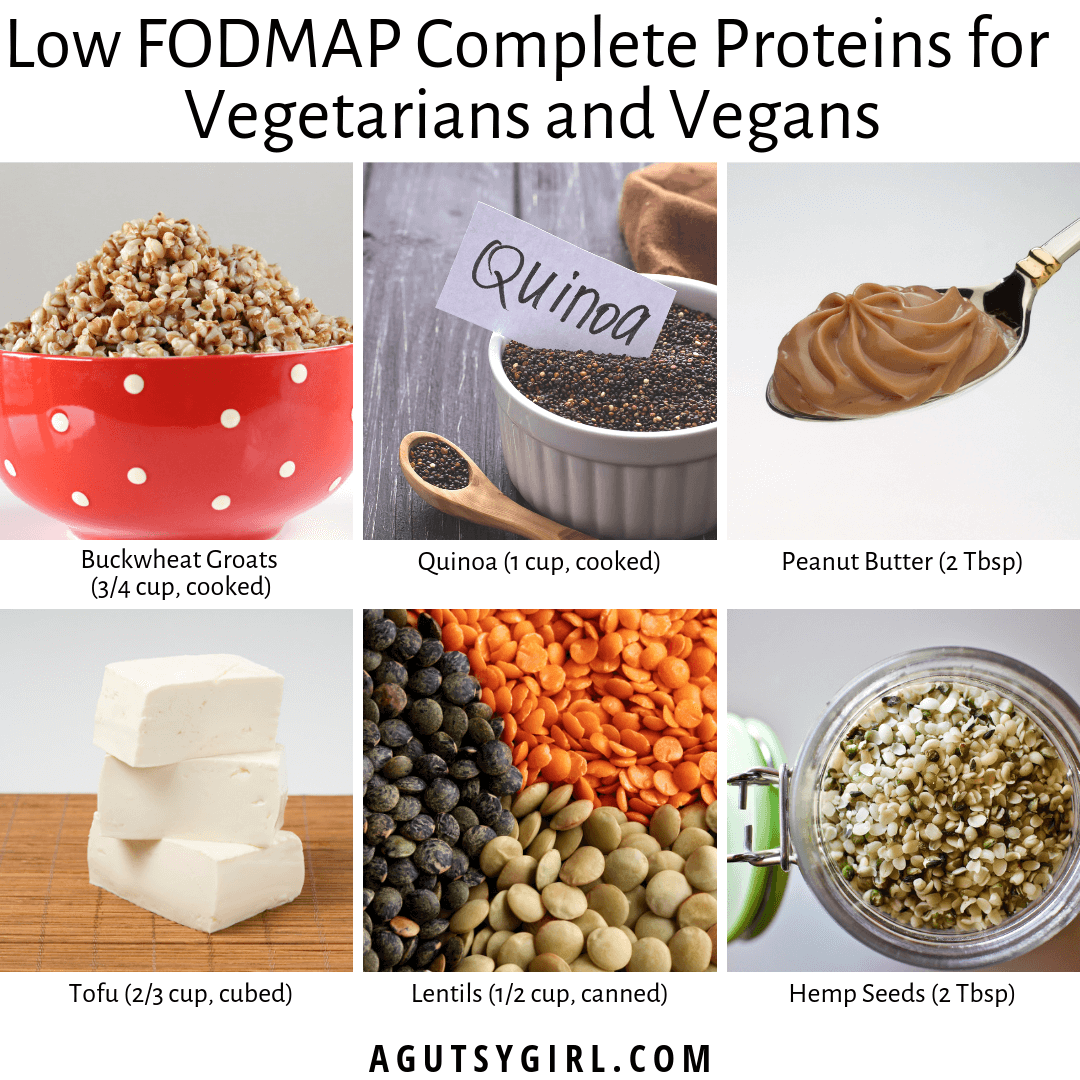 6 Low FODMAP Complete Proteins for Vegetarians and Vegans agutsygirl.com quinoa #vegetarian #vegan #sibo #guthealth #lowfodmap