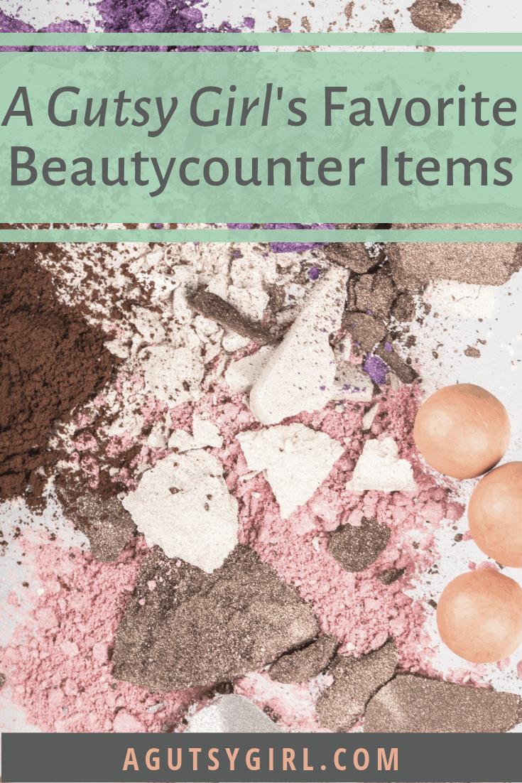 A Gutsy Girl's Favorite Beautycounter Items agutsygirl.com #beautycounter #skincare #guthealing