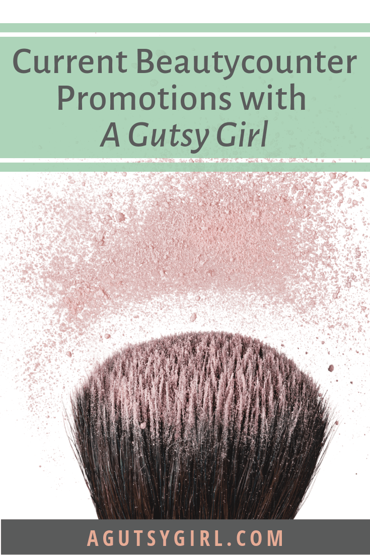 Current Beautycounter Promotions with A Gutsy Girl agutsygirl.com #beautycounter #skincare #guthealing