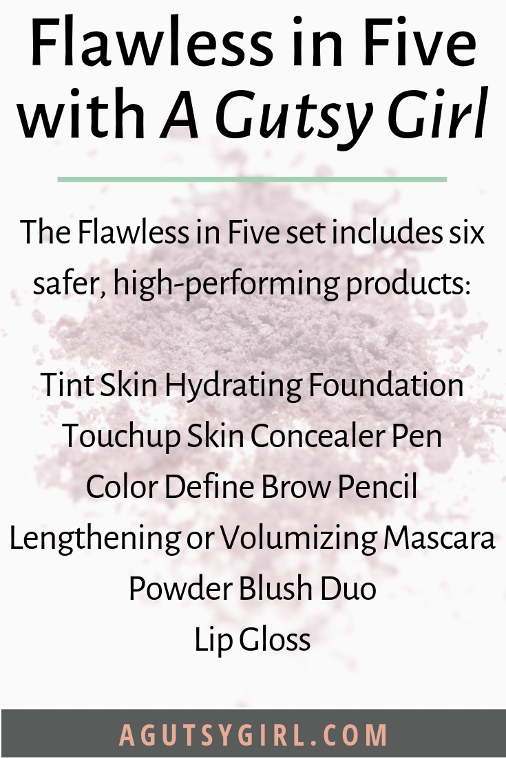 Flawless in Five skincare routine agutsygirl.com #beautycounter #skincare #guthealing