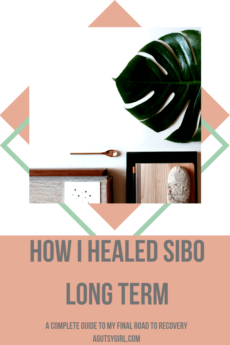 How I Healed SIBO Long Term agutsygirl.com #guthealth #sibo #guthealing