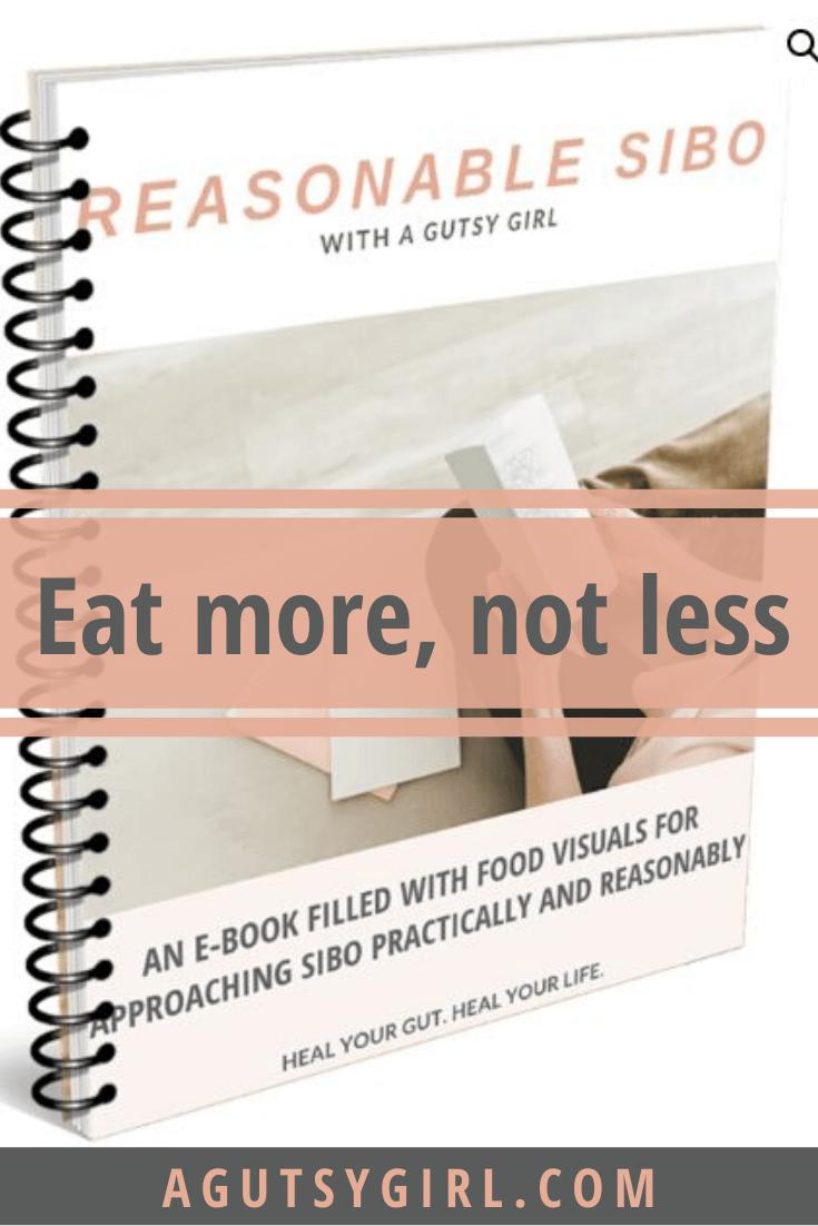 Reasonable SIBO e-book agutsygirl.com #sibo #fodmap #lowfodmap low-FODMAP diet